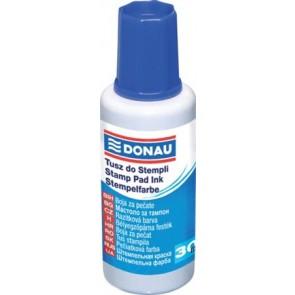 Bélyegzőfesték, 30 ml, DONAU, kék