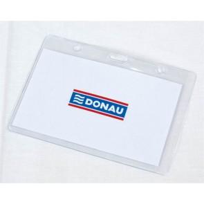 Azonosítókártya tartó, 105x65 mm, hajlékony, vízszintes, DONAU
