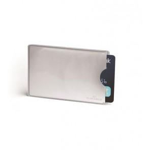 Bankkártyatartó, 1 db-os, RFID védelemmel, DURABLE, ezüst