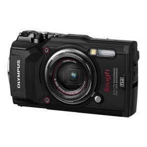 """Fényképezőgép, 4K, Wi-fi, vízálló, OLYMPUS """"TG-6"""", fekete"""