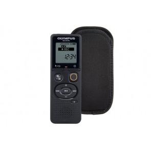 """Diktafon, digitális, 4 GB memória, CS131 tokkal, OLYMPUS """"VN-541PC"""", fekete"""