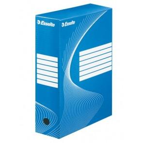 """Archiváló doboz, A4, 100 mm, karton, ESSELTE """"Standard"""", kék"""