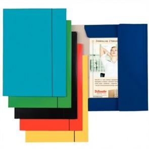 "Gumis mappa, 15 mm, karton, A4, ESSELTE ""Economy"", kék"