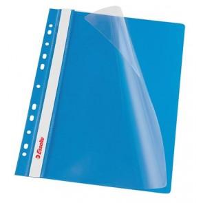 Gyorsfűző, lefűzhető, PP, A4, ESSELTE, kék