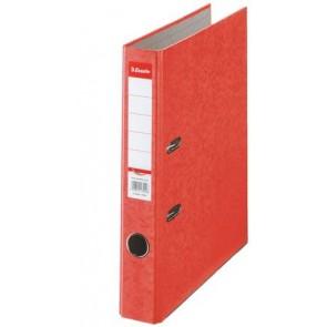"Iratrendező, 50 mm, A4, karton, ESSELTE ""Rainbow"", piros"