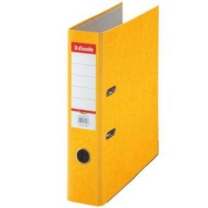 "Iratrendező, 75 mm, A4, karton, ESSELTE ""Rainbow"", sárga"