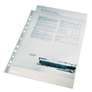 """Genotherm, lefűzhető, A4, 43 mikron, narancsos felület, ESSELTE """"Standard"""""""