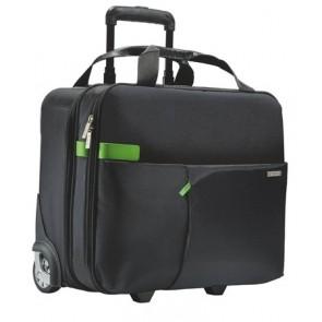 """Utazótáska, gurulós, LEITZ """"Complete Smart Traveller"""", fekete"""