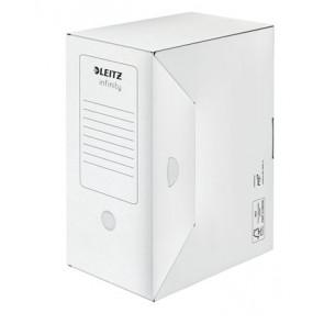 """Archiváló doboz, A4, 150 mm, LEITZ """"Infinity"""", fehér"""