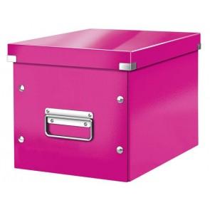 """Doboz, M méret, LEITZ """"Click&Store"""", rózsaszín"""