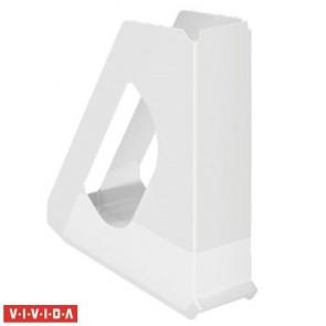 "Iratpapucs, műanyag, 68 mm, ESSELTE ""Europost"", Vivida fehér"