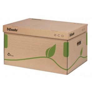 """Archiváló konténer, újrahasznosított karton, felfelé nyíló, ESSELTE """"Eco"""", barna"""