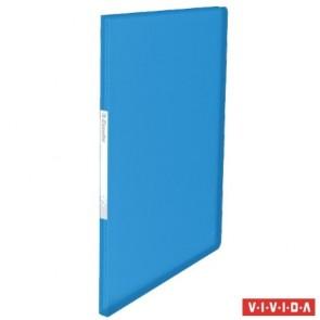 """Bemutatómappa, 20 zsebes, A4, ESSELTE """"Vivida"""", kék"""