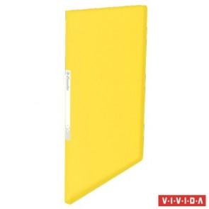 """Bemutatómappa, 20 zsebes, A4, ESSELTE """"Vivida"""", sárga"""