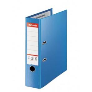 "Iratrendező, 80 mm, A4, PP, élvédő sínnel, ESSELTE ""Standard Plus"", Vivida kék"