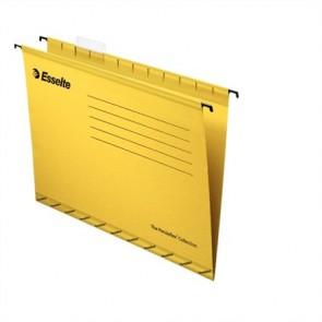 """Függőmappa, újrahasznosított karton, A4, ESSELTE """"Classic"""", sárga"""