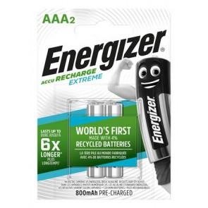 """Tölthető elem, AAA mikro, 2x800 mAh, előtöltött, ENERGIZER """"Extreme"""""""
