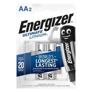 "Elem, AA ceruza, 2 db, Lítium, ENERGIZER ""Ultimate Lithium"""