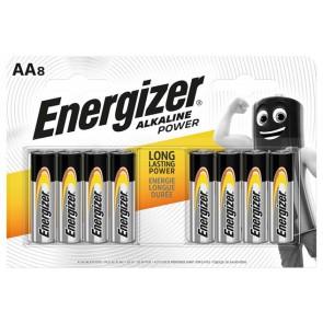 "Elem, AA ceruza, 8 db, ENERGIZER ""Alkaline Power"""