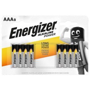 """Elem, AAA mikro, 8 db, ENERGIZER """"Alkaline Power"""""""