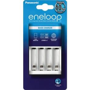 """Elemtöltő, AA ceruza/AAA mikro, 2/4, időzítő, PANASONIC """"Eneloop"""""""