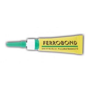 Pillanatragasztó gél, 3 g, FERROBOND