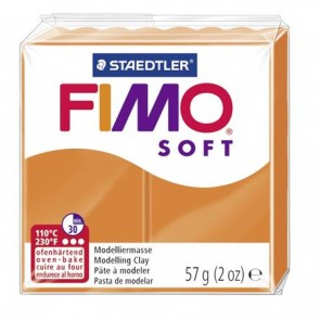 "Gyurma, 56 g, égethető, FIMO ""Soft"", mandarin"