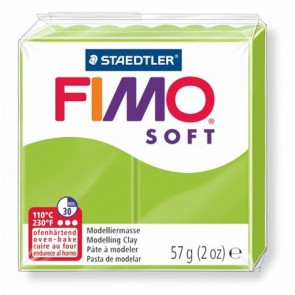 "Gyurma, 56 g, égethető, FIMO ""Soft"", alma zöld"