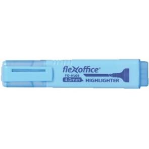 """Szövegkiemelő, 4,0 mm, FLEXOFFICE """"HL05"""", kék"""