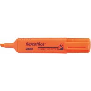 """Szövegkiemelő, 4,0 mm, FLEXOFFICE """"HL05"""", narancs"""