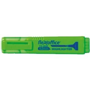 """Szövegkiemelő, 4,0 mm, FLEXOFFICE """"HL05"""", zöld"""