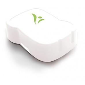 Uzsonnás doboz, higiénikus műanyagból, FREEWATER, átlátszó