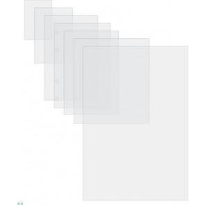Meleglamináló fólia, 125 mikron, 64x108mm, fényes, GBC