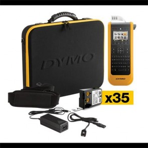 """Elektromos feliratozógép, DYMO """"XTL 300"""" készlet táskában"""