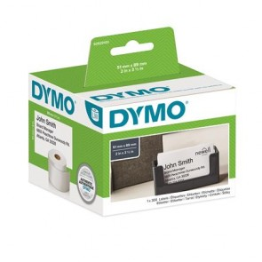 Etikett, LW nyomtatóhoz, 51x89 mm, 300 db etikett, DYMO