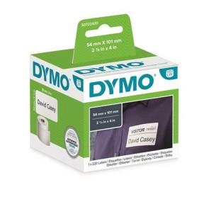 Etikett, LW nyomtatóhoz, 54x101 mm, 220 db etikett, DYMO