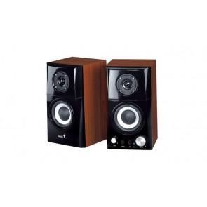 """Hangszóró, 2.0, 14W, fa borítás, GENIUS """"SP-HF500A II"""""""