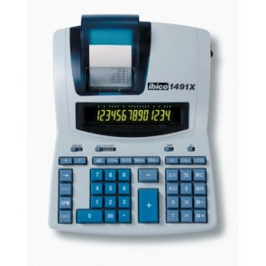 """Számológép, szalagos, 14 számjegy, IBICO """"1491X"""""""