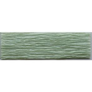 Krepp papír 50x200 cm, gyöngyház zöld