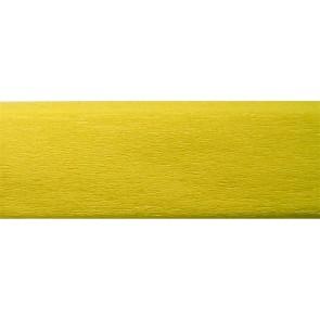 Krepp-papír, 50x200 cm, COOL BY VICTORIA, citromsárga