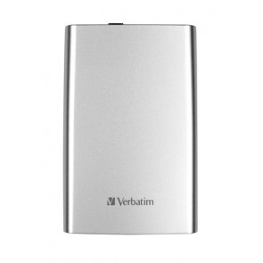 "2,5"" HDD (merevlemez), 1TB, USB 3.0, VERBATIM, ezüst"