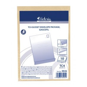 Redős-talpas tasak csomag, TC4, szilikonos, 50 mm talp, VICTORIA, barna gascofil