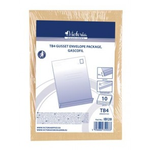 Redős-talpas tasak csomag, TB4, szilikonos, 50 mm talp, VICTORIA, barna gascofil