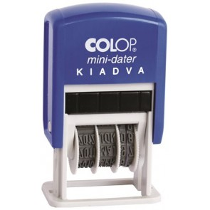"Dátumbélyegző, COLOP ""S 160/L"", Kiadva"