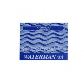 Töltőtoll patron, WATERMAN, kék