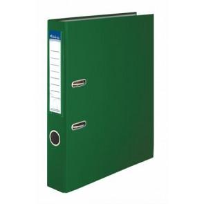 "Iratrendező, 50 mm, A4, PP/karton, VICTORIA, ""Basic"", zöld"