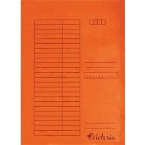 Gyorsfűző, karton, A4, VICTORIA, narancs