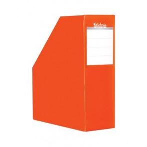 Iratpapucs, karton, 90 mm, VICTORIA, narancs