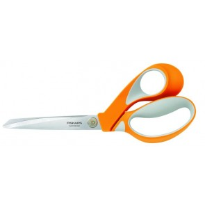 """Olló, általános, 23 cm, FISKARS """"RazorEdge Softgrip"""", narancssárga"""