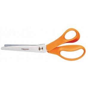 """Olló, cikkcakk, 23 cm, FISKARS """"Classic"""", narancssárga"""